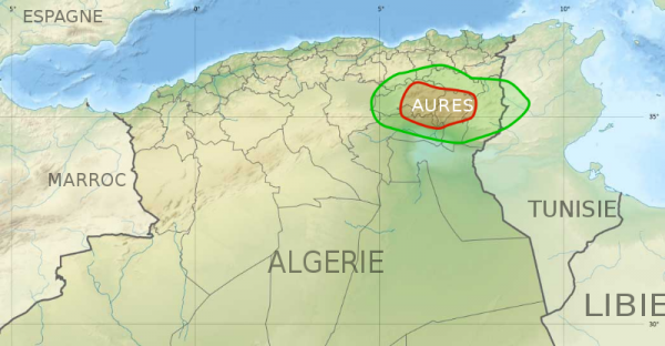 les auresses in khenchela of algeria
