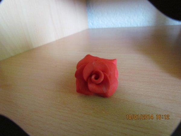 une bague en rose