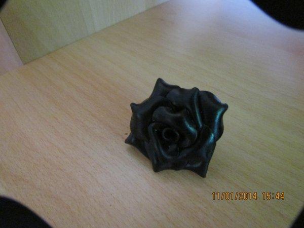 une bague noir