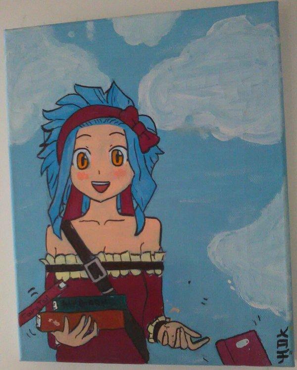 Levy en peinture par Melody