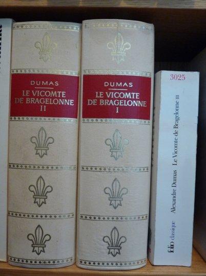Lu : le Vicomte de Bragelonne d'Alexandre Dumas