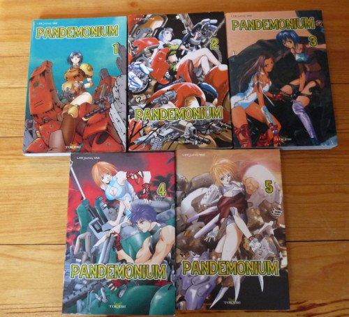 Lu : mahnwa Pandemonium volumes 1 à 5 (intégrale)