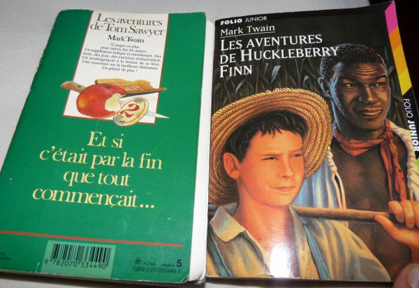 Lu : Tom Sawyer et Huckleberry Finn de Mark Twain