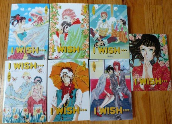 Lu : manga I WIsh... volumes 1 à 7