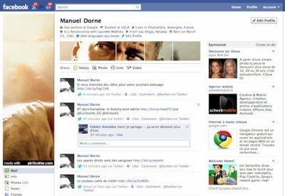 Une photo de profil panoramique sur Facebook