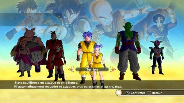 Présentation jeu : Dragon ball Xenoverse