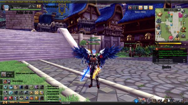 Présentation jeu : Aura Kingdom