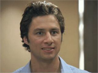 John Dorian (Zach Braff) dans la série TV Scrubs