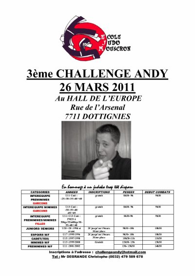 Challenge Andy. 3. ♥
