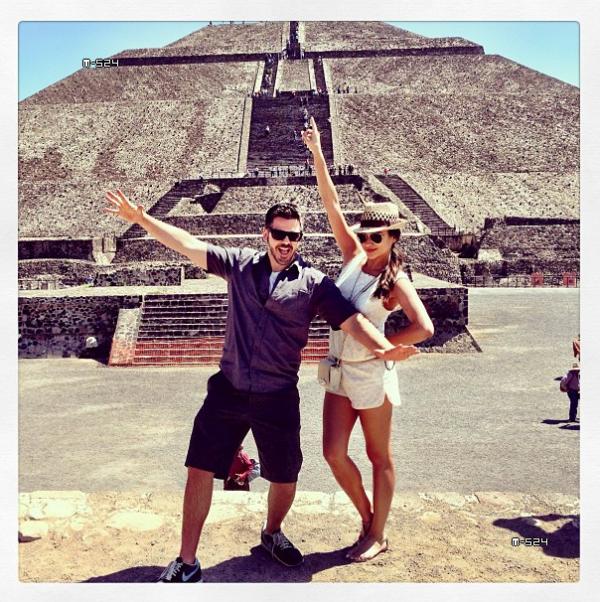Le 18 février 2013 : A Mexico