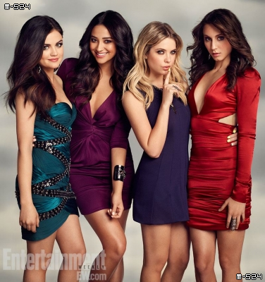 Les filles pour le magazine Entertainment Weekly