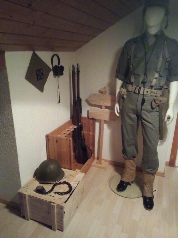 Mon mannequin américain WW2