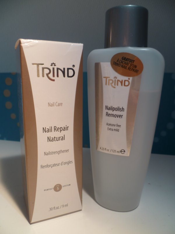 [On a testé # 2] NAIL REPAIR NATURAL - TRIND by Pauline