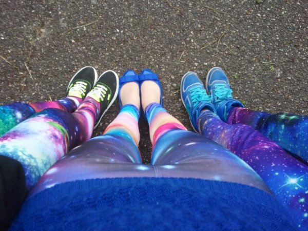 - Leggings galaxy!  -
