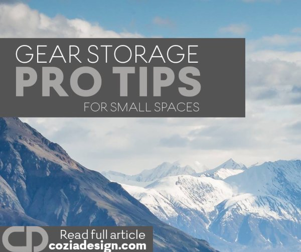 Discover our collection of to the point pro tips and maximize gear storage space.