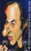 caricature de jean jaque golman