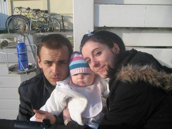 moi ma fille et mon homme