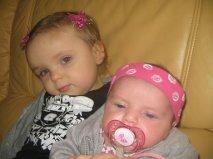 mes 2 filles je vous aime