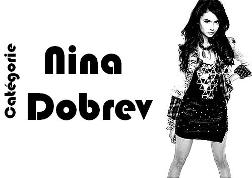 Catégorie: Nina Dobrev