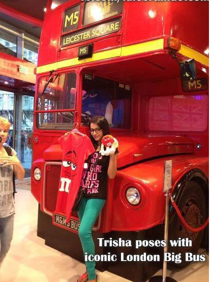 Exclusive Trisha latest Image From London