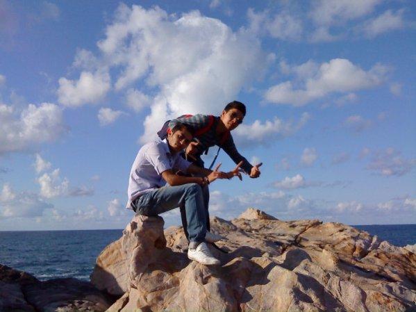 Au bord de la mer ^^