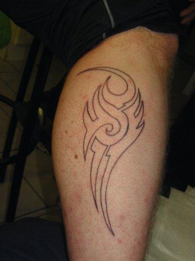 mon tatouge pas fini