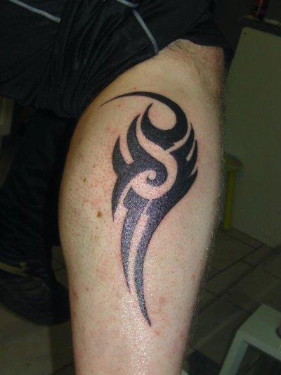 et voila mon tatouage fini