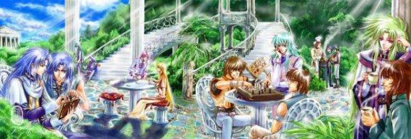 Bonjour et Bienvenue sur mon Blog-Fiction Saint-Seiya ^^