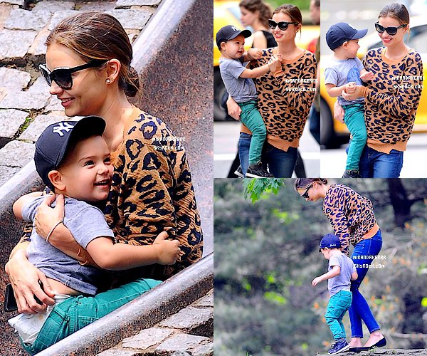 http://www.Mirandakerrr.skyrock.com/  31/05/13  Miranda s'est rendue à un photoshoot, avec Flynn, à New York.http://www.Mirandakerrr.skyrock.com/