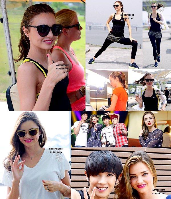 http://www.Mirandakerrr.skyrock.com/  14/06/13  Miranda est de retour à New York, après son voyage en Corée, près de sa famille.http://www.Mirandakerrr.skyrock.com/