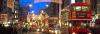 Rue de Londres à Noël