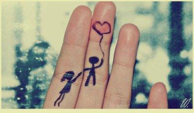 """"""" L'amour est fait pour ce vivre à deux (♥)."""""""