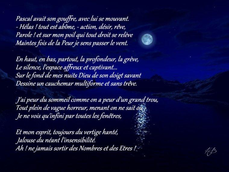 Le Gouffre - Charles Baudelaire