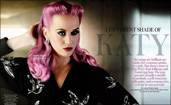 Découvrez des photos du magazine InStyle du mois d'Octobre 2011 avec Katy Perry. Qu'en penses-tu ?