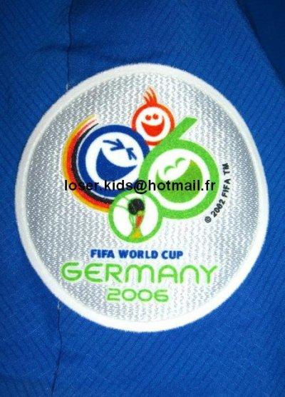 patch de la coupe du monde