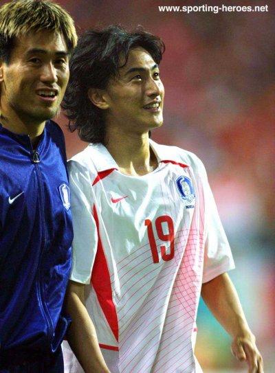 bientôt : AHN JUNG HWAN porté Italie-Corée du Sud (coupe du monde 2002)