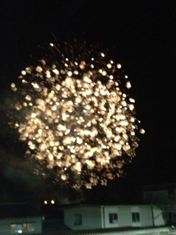 La soirée de feux d'artifice d'Echizen No.2