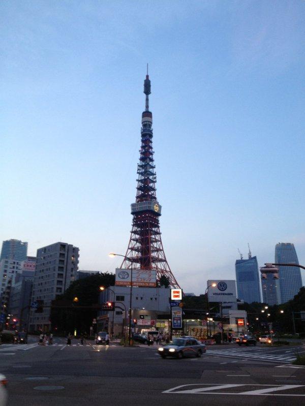 La tour Tokyo 2013