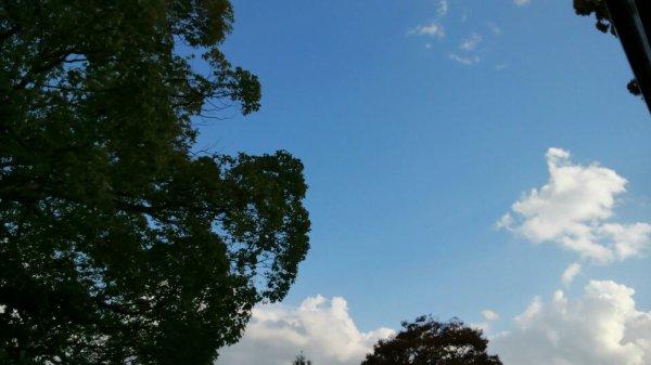Le ciel est bleu ^^