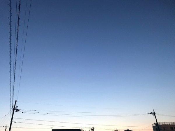 J'aime le ciel blue en soirée ^^