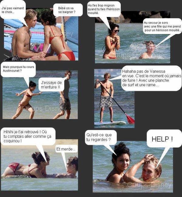 .  BD Vaustin à la plage. .