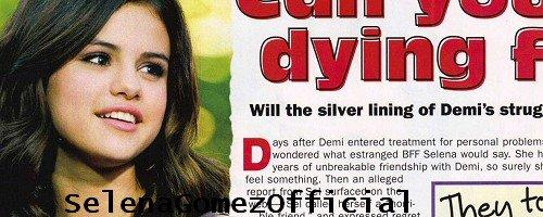Selena Gomez - Mises à jour de Magazine