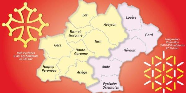 Choisissez le nom de la région Midi-Pyrénées-Languedoc-Roussillon !