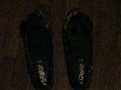 Chaussures Leopard avec petits noeuds