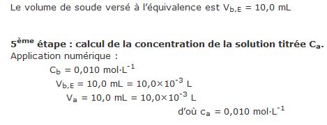 Chapitre 10.  Acides faibles et bases faibles en solutions aqueuses