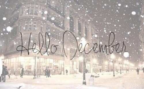 Hello december !!