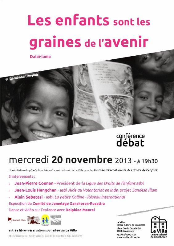 Conférence le 20 novembre 2013 ...
