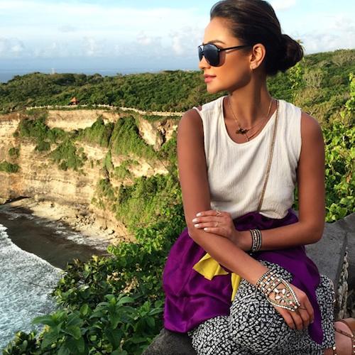 Shay à Bali