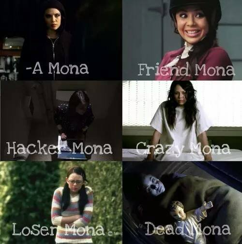 Toutes les facettes de Mona