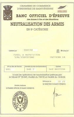 :neutralisation du PATTERN 14